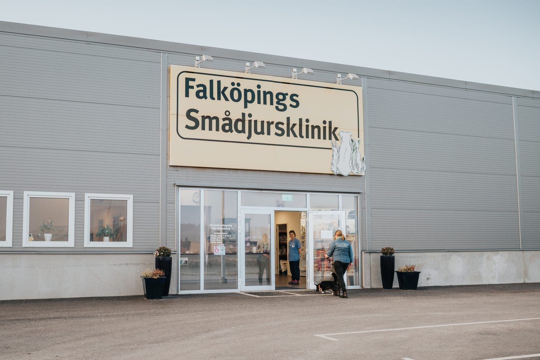 Entré smådjurskliniken i falköping